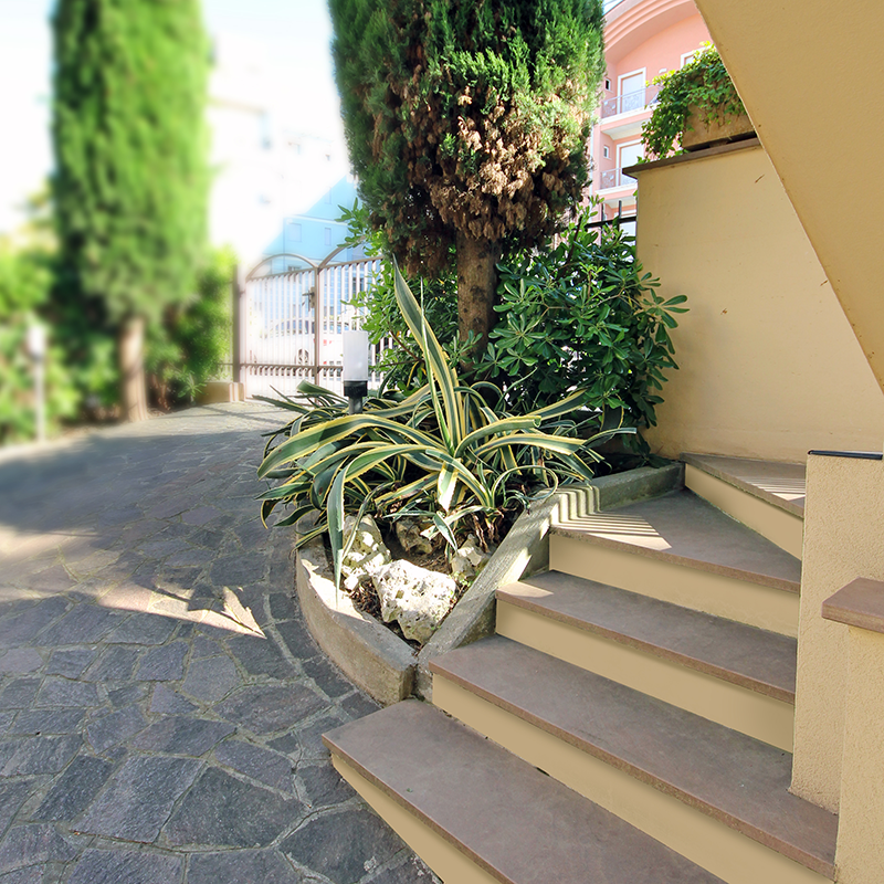 Giardino Appartamenti Magnani Misano