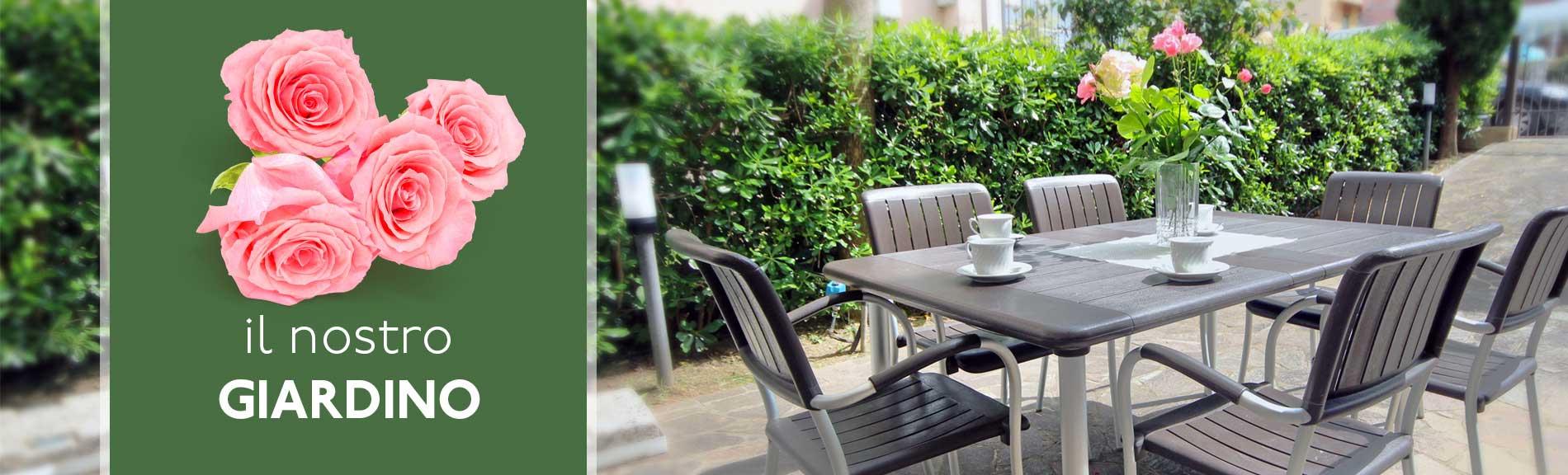 Appartamento Misano con giardino